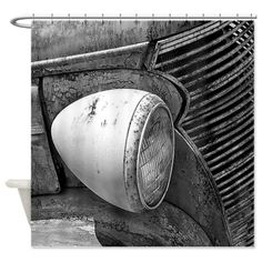Antique Pickup Shower Curtain on CafePress.com