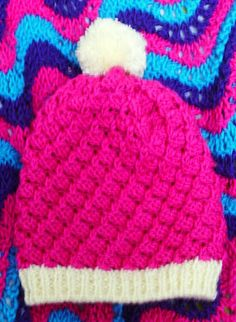 Tangle Knits: Baby Toque to Match Berry Sweater