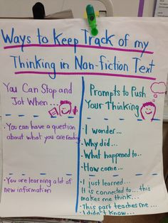 Reader's Workshop/Balanced Literacy Nonfiction Text