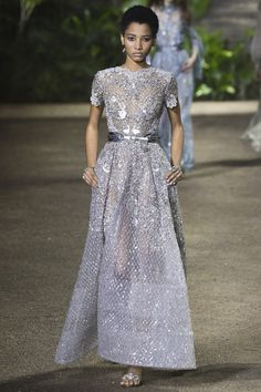Elie Saab | Spring/Summer 2016 Couture Collection via Designer Elie Saab | Modeled by Lineisy Montero | Paris; January 27, 2016
