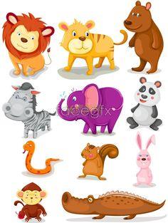Cartoon animal images
