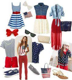 rojo, azul y blanco USA