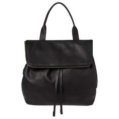 BuyWhistles Slouchy Drawstring Backpack, Black Online at johnlewis.com