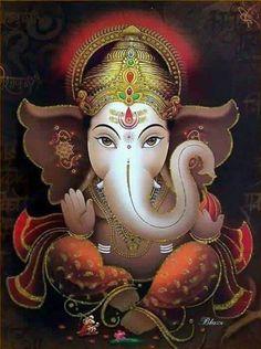 Ganapathi Puja is a highly dedicated worship to Lord Ganapathi with the presence of Goddess Lakshmi, Arte Ganesha, Jai Ganesh, Shree Ganesh, Ganesh Images, Ganesha Pictures, Ganesh Tattoo, Lord Ganesha Paintings, Happy Ganesh Chaturthi, Lord Vishnu Wallpapers