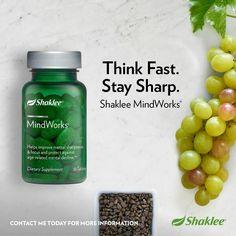 @ShakleeHQ #MindWorks is one of my favorite products! #health #wellness #mentalhealth #Shaklee