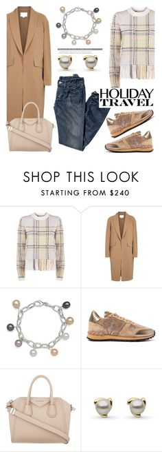 """""""Travel in Style, Holiday Edition"""" by pearlparadise ❤ liked on Polyvore featuring moda, Chloé, Alexander Wang, Valentino, Givenchy, contestentry, travelinstyle, holidaystyle, pearljewelry ve pearlparadise"""
