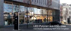LED Pylonen für Rolf Schubiger Küchen AG in St. Gallen