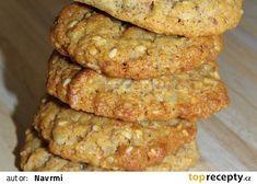 Ovesné sušenky II. recept - TopRecepty.cz Bread, Cookies, Chicken, Vegetables, Desserts, Recipes, Food, Tailgate Desserts, Biscuits