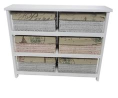 Side View Of The Hall Storage Table With Baskets And Drawers Pinterest Ideas
