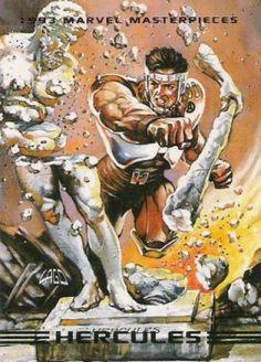 Hercules 1993 Marvel Masterpieces
