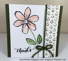I CASEd this card from the 2015-16 Annual Catalog! There are some great projects for you to use right in the catalog. It's such a goo...