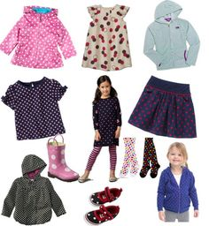 Polka-Dot Clothes For Little Girls - fall trends