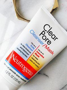 Salicylic Acid vs. Benzoyl Peroxide: Neutrogena Clear Pore Cleanser/Mask Review | nyctalon.com