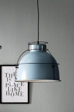 Ellos Home Taklampe Jamie Blå/svart, Hvit/messing, Svart/messing - Taklamper | Ellos Mobile
