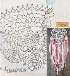 Crochet Patterns Filet, Crochet Doily Diagram, Doily Patterns, Crochet Chart, Thread Crochet, Crochet Doilies, Crochet Stitches, Crochet Home, Diy Crochet