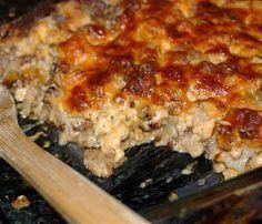 Low Carb Meals: Mushroom, Chicken & Sausage Casserole