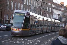 Luas Tram -  Harcourt Street by infomatique, via Flickr