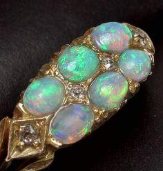 110 YEAR OLD Edwardi beauty bling jewelry fashion - Beauty Bling Jewelry I Love Jewelry, Opal Jewelry, Bling Jewelry, Jewelry Design, Jewlery, Edwardian Jewelry, Antique Jewelry, Vintage Jewelry, Art Nouveau