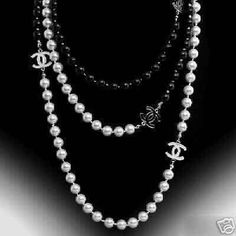 My wish list too. Wish list....Chanel Pearls So fabulous!