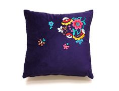 LOLA embroidery cushion by My Friend Paco