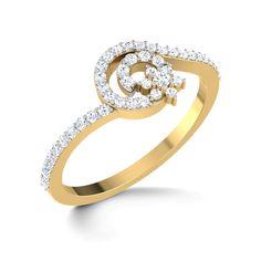 Spiral Twist Ring