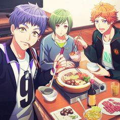 Cute Anime Boy, Anime Guys, Manga Art, Anime Art, Kuudere, Anime Friendship, Brothers Conflict, Video Game Anime, Video Games