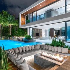 Dream House Interior, Luxury Homes Dream Houses, Dream Home Design, Modern House Design, My Dream Home, Modern Mansion Interior, Loft Design, Design Case, Modern Architecture House