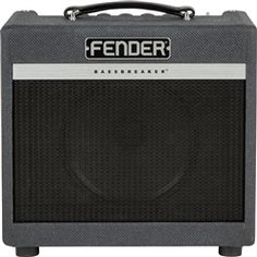 Fender Bassbreaker 007 Combo 120 V Guitar Amplifier - 2260000000 - 885978478644 Treble Booster, Fender Guitar Amps, Digital Piano Keyboard, Used Guitars, Recording Equipment, Epiphone, Marshall Speaker, Hard Rock, Tweed