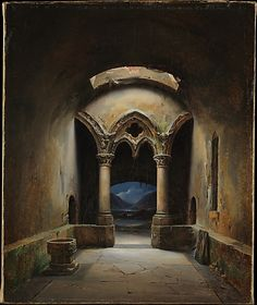 Charles-Marie Bouton, Gothic Chapel