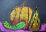 Fall Still Life in Chalk:   Artsonia