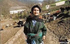 Talysh Woman from the Gilan Province, Iran.