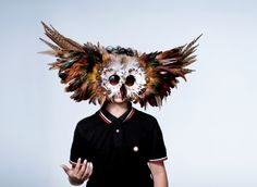 Vogue Daily — Kate Spade New York mask worn by Pascal O'Neill  http://cultureclub.mx/WP/halloween-diy