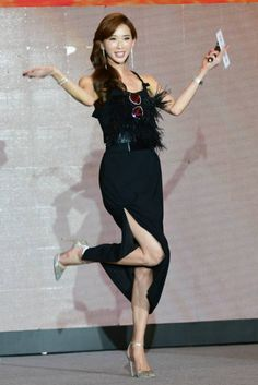 Lin Chi Ling, Asian Woman, Ballet Skirt, Legs, Film, Womens Fashion, Asian Ladies, Pretty, Skirts