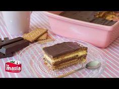 Tarta de la abuela | Recetas La Masía Chocolate Fundido, Cake Tutorial, Churros, Flan, Diabetic Recipes, Tiramisu, Food And Drink, Sweets, Ethnic Recipes