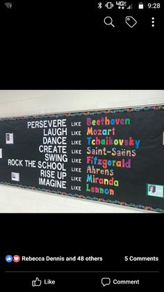 Music Education Bulletin Boards Display Ideas For 2019 Middle School Choir, Music School, Music Lesson Plans, Music Lessons, Music Bulletin Boards, Band Rooms, Elementary Music, Elementary Library, Flirt