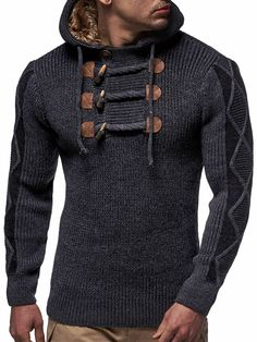 Beat the chilling weather and look fashionable with a black cardigan. Already preferred by both sexes, you know you are on the right track when you pull it off Casual Fall, Men Casual, La Mode Masculine, Mens Fashion, Fashion Outfits, Casual Sweaters, Well Dressed Men, Men Looks, Mens Clothing Styles