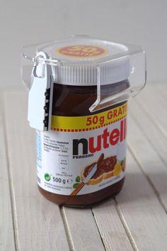chocosafe nutella Schloss , nutella lock , Deckel Transparent, Schloss Weiß in Feinschmecker, Honig/Konfitüre/Brotaufstriche | eBay
