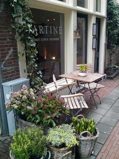 Ontbijt bij Gartine, Amsterdam centrum, Taksteeg 7
