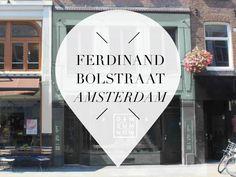 Benieuwd welke spots je kunt vinden op de Ferdinand Bolstraat in De Pijp Amsterdam? Wij vonden er 12! Lees het in deze blog van Your Little Black Book.