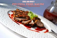 duck breast with strawberry balsamic sauce