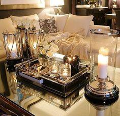 Coffee table decor ideas...