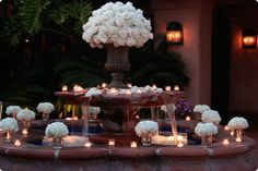 the venue I like for the wedding that I will someday have has a fountain... this would be perfect.