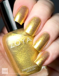 zoya nail art | is a fern green and gold. Initially I thought it was similar to Zoya ...