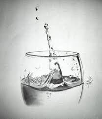 Bildergebnis für drawings of broken glass