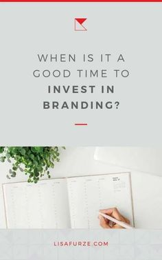 If you've been wondering when you should start investing in professional branding help, here are some signs you can look out for. Branding Your Business, Personal Branding, Creative Business, Business Tips, Some Good Thoughts, Importance Of Branding, Brand Story, Success Mindset, Business Entrepreneur