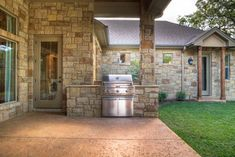 Model Home 132 Vista Lane Georgetown Tx - mediterranean - patio - austin - Jeff Watson Homes, Inc.
