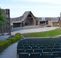 One of the most popular and longest running nighttime attractions on the Outer Banks is the Lost Colony outdoor drama, staged within the Fort Raleigh National Historic Site at the Waterside Theater. In 2001 I acted in the play. Outer Banks North Carolina, North Carolina Beaches, Outer Banks Nc, Outer Banks Vacation, North Carolina Homes, Roanoke Island, Vacation Places, Vacations