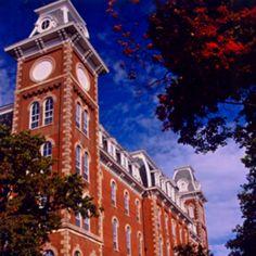 Old Main - University of Arkansas ❤