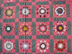 VARIABLE STARS ANTIQUE QUILT | Pieced quilts | Pinterest ... : marie miller quilts - Adamdwight.com