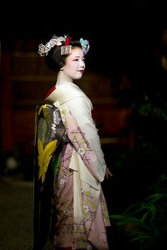 Ayano as maiko for the first time she tried the Katsuyama hairstyle by ONIHIDE on Flickr